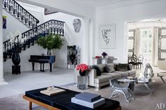 Un apartamento con mucho glamour en Londres