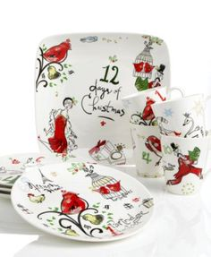 Lenox Serveware, 12 Days of Christmas Collection
