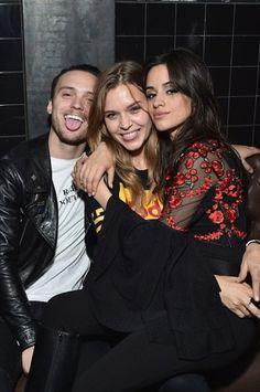Alex DeLeon, Camila Cabello & Josephin Skriver celebrating her birthday