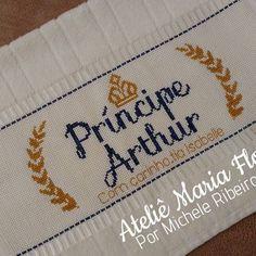 Príncipe Arthur #pontox #pontodecruz #pontocruz #crossstitch #bordadoamao…