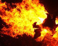 The Up Helly Aa fire festival in Lerwick, Shetland Islands (Image: PA)