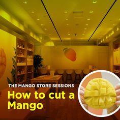 Slice, scoop, savor! Learn how to cut a mango.