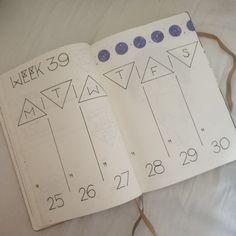 Bullet journal weekly minimalistic