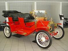 """1912 Ford Model """"T"""" Tour-about  Built from parts, at Sunset Ford, Ca."""