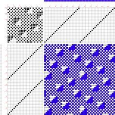 draft image: 24315, 2500 Armature - Intreccio Per Tessuti Di Lana, Cotone, Rayon, Seta - Eugenio Poma, 24S, 24T