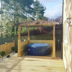 my pergola and lay z spa yard in 2019 hot tub backyard. Black Bedroom Furniture Sets. Home Design Ideas