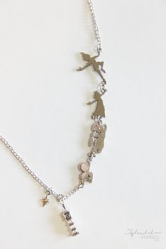 fandom of the month club peter pan necklace