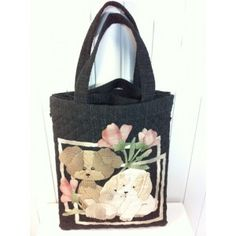 Lovely Dogs Applique 2 in 1 - Bags