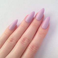 Matte Lilac Stiletto nails, Nail designs, Nail art, Nails, Stiletto... (225 ZAR) ❤ liked on Polyvore featuring beauty products, nail care, nail treatments, nails and nail polish