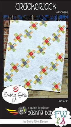 Crackerjack Quilt Pattern - The Sassy Quilter