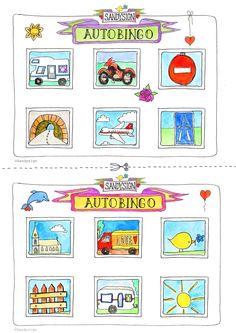 Vakantie-cadeautje van Sandysign: autobingo  http://sandysign.nl