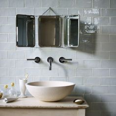 Mint Tiles Fired Earth have Beautiful Handmade Kitchen Wall Tiles . get the look with Tile Emporium Highcliffe a Fired Earth Retailer. Loft Bathroom, Family Bathroom, Downstairs Bathroom, Small Bathroom, Bathroom Ideas, Ceramic Floor Tiles, Wall And Floor Tiles, Wall Tiles, Victorian Bathroom