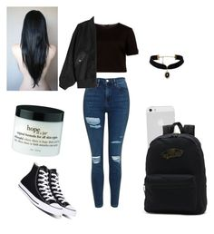 """""""Katrina Chapter 9"""" by jaydapolise on Polyvore featuring Topshop, Vans, Ted Baker, Alexander Wang and Converse"""