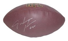 Buffalo Bills Fred Jackson signed NFL Wilson full size football w/ proof photo.  Proof photo of Fred signing will be included with your purchase along with a COA issued from Southwestconnection-Memorabilia, guaranteeing the item to pass authentication services from PSA/DNA or JSA. Free USPS shipping. www.AutographedwithProof.com is your one stop for autographed collectibles from Buffalo Bills & NFL teams. Check back with us often, as we are always obtaining new items.