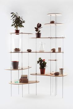 Nenuphar Organic Shelving Design by Dopludo Collective & Lesha Galkin Metal Furniture, Home Furniture, Furniture Design, Shelf Furniture, Studio Interior, Interior Design, Interior Inspiration, Design Inspiration, Design Ideas