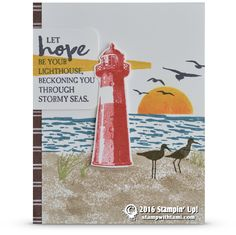 CARD: Let Hope Be Your Lighthouse Card