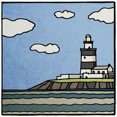 Instagram post by Peter Brennan • Jan 10, 2017 at 2:20pm UTC Lighthouses, Irish, Snoopy, Instagram Posts, Fictional Characters, Art, Art Background, Irish Language, Kunst