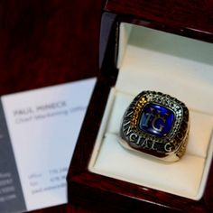 I WILL earn my ring this year! :)