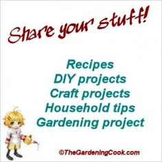 GREAT site teaching sooooo many things. Home decor, recipes, crafts, home ideas, and so many more. GREAT site.