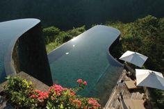 Insel Bali, Indonesien - Ubud Hanging Gardens Hotel