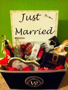 Wedding Gift Box ~After wedding fun for the Bride & Groom.