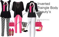 Inverted Beauty! Exclusively for the #invertedtriangle angelasimmons.com