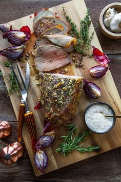 Garlic Herb Roast Beef is a great winter time dinner idea! This is definitely a must try recipe!