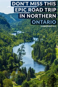 Ontario is full of beautiful places, especially in the north. what better way to explore them than with a northern ontario road trip? Alberta Canada, Canada Ontario, Ontario Parks, Vancouver, Quebec, Cool Places To Visit, Places To Travel, Toronto, Columbia