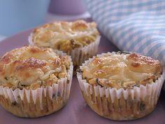 Kochen mit Kindern: Pikante Mais-Zucchini-Muffins