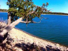 Lake of the Arbuckles in Oklahoma