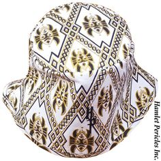 African Wax Print Unisex Bucket Hat | African Symbol by Hamlet Pericles, Inc.