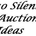10 Silent Auction Ideas
