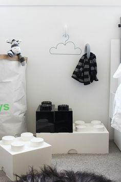 // Monochrome kids room
