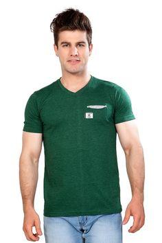25a8d2b94d6 Price Rs.329 - Buy Pocket  V-NeckTshirt Online in India V · V Neck T  ShirtTshirts ...