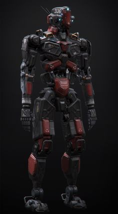 We are a premier hard surface outsource studio, founded by artist Alan Van Ryzin, who's been working in the industry for 16 years. Hard Surface Modeling, 3d Modeling, Military Robot, Robots Characters, Alien Concept Art, Sci Fi Armor, Spaceship Design, 3d Artist, Reference Images