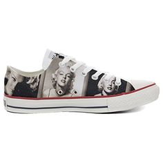 Converse All Star personalisierte Schuhe (Handwerk Produkt) Slim Marilyn Monroe - http://on-line-kaufen.de/make-your-shoes/converse-all-star-personalisierte-schuhe-slim-7