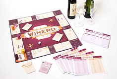Winerd: A game the that encourages you to polish off bottles of wine.