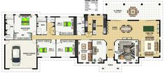 Floor Plan Friday: Making the best of wide frontage land