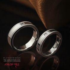 엔조 2PR201 백금커플링 - Enzo 2PR201 platinum couplering #커플링 #백금 #심플반지 #밀그레인 #플래티늄 #반지제작 #주문제작반지 #엔조 #엔조반지