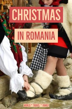 Romanian Christmas Traditions are nothing if not interesting! We spent 3 Christmases in Romania, observing and taking photos. Christian and pre Christian. Christmas Events, Christmas Travel, Holiday Travel, Christmas Traditions, Europe Destinations, Europe Travel Tips, Budget Travel, Travel Ideas, Travel Inspiration