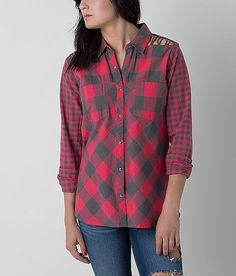 BKE Double Plaid Shirt