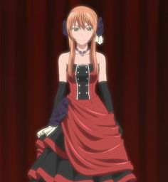 The World Is Still Beautiful Soredemo Sekai wa Utsukushii Nike Remercier Can I just say the design of this dress is gorgeous? A++ Anime fashion.