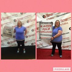 Well I did it.... I took the 6 week 20lb challenged and crushed it!!!! I lost 32.4 lbs in just 6 weeks! Was it hard......YES....but completely worth it! - Rachel
