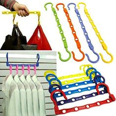 Clothing Type: Clothes Model Number: Hanger Hook Closet Organizer Usage: Closet Product: Trousers Leg Clip Lifting Method: Hand-Held Style: Multifunctional Material: Plastic Use: Other Length: Other T