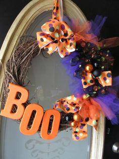 DIY Halloween Decor DIY Halloween Crafts : DIY Halloween Wreath