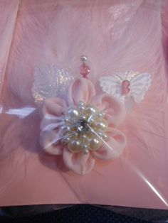 stunning shabby chic pink things | Shabby Chic Handmade Pink Flower by jennings644 on Etsy