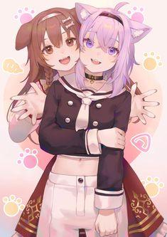 Lolis Neko, Anime Girl Neko, Anime Girl Cute, Chica Anime Manga, Anime Art, Kawaii Cat, Kawaii Anime Girl, Fox Girl, Anime People