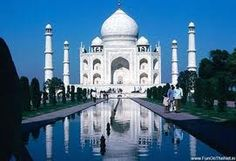 Eight wonders of the world - The Tajmahal