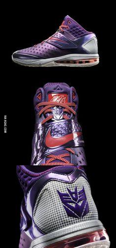 Nike's 'Megatron Rises' Transformer Themed Training Sneakers