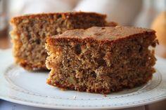 Healthy Cake, Healthy Desserts, Fun Desserts, Delicious Desserts, Healthy Breakfasts, Greek Desserts, Greek Recipes, Light Recipes, Sweet Loaf Recipe